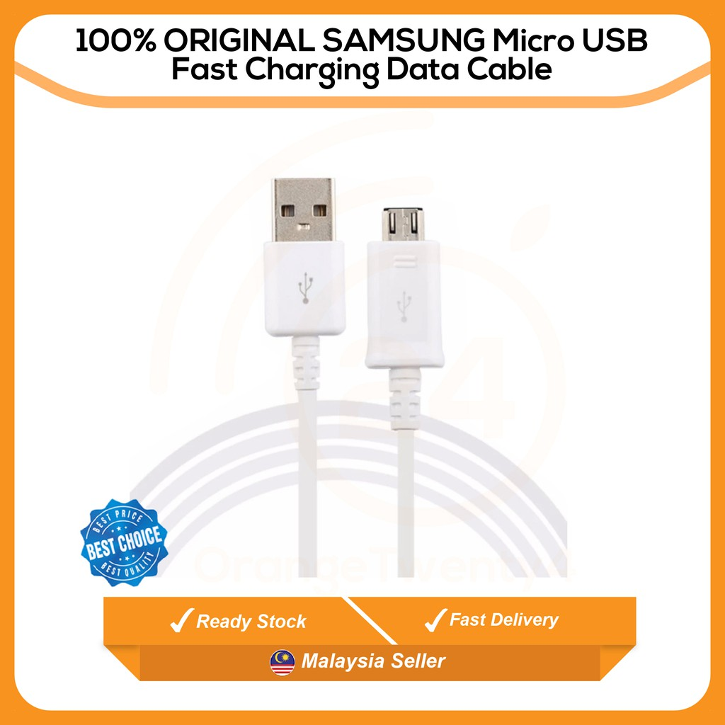 b90dcbf0490 Original Samsung Fast Charge Sync 1.5m micro USB Cable Note 4,S6 edge,  S7,Note 5 | Shopee Malaysia
