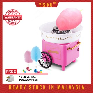 Electric Mini Sweet Cotton Candy Maker Machine Nostalgia Diy Cotton Candy