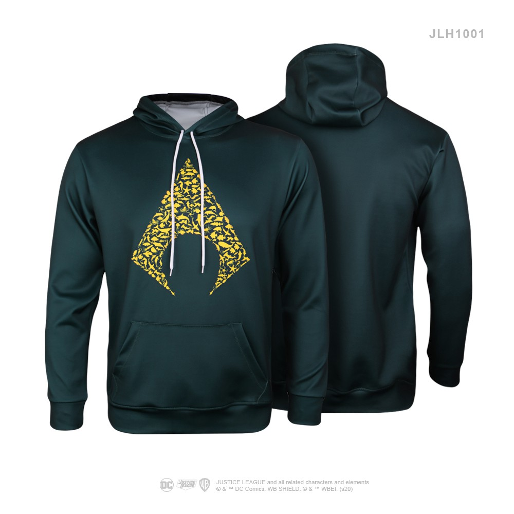JUSTICE LEAGUE Sweater Hoody 1st Series Thick Polyester Sweater with Hood Jacket