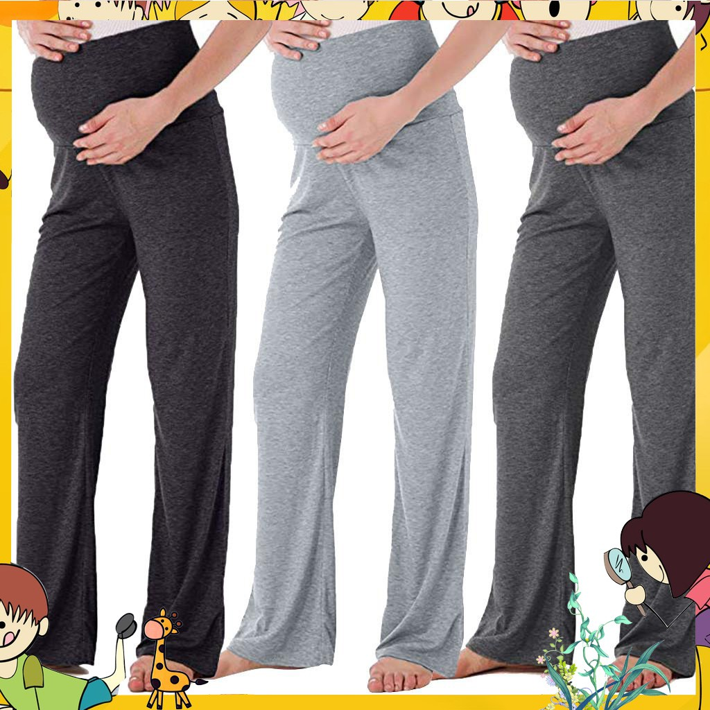 2a9ce53cac3ec Teenster Pregnancy Maternity Clothing Maternity Support Pants Premama  Trousers | Shopee Malaysia