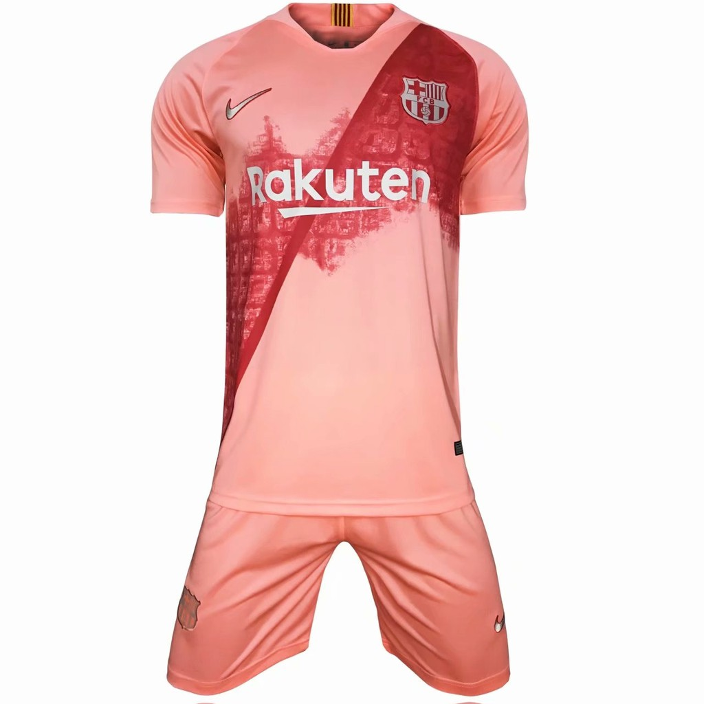 new style 06d07 56f73 Barcelona 3rd third jersey 2018-2019 with shorts