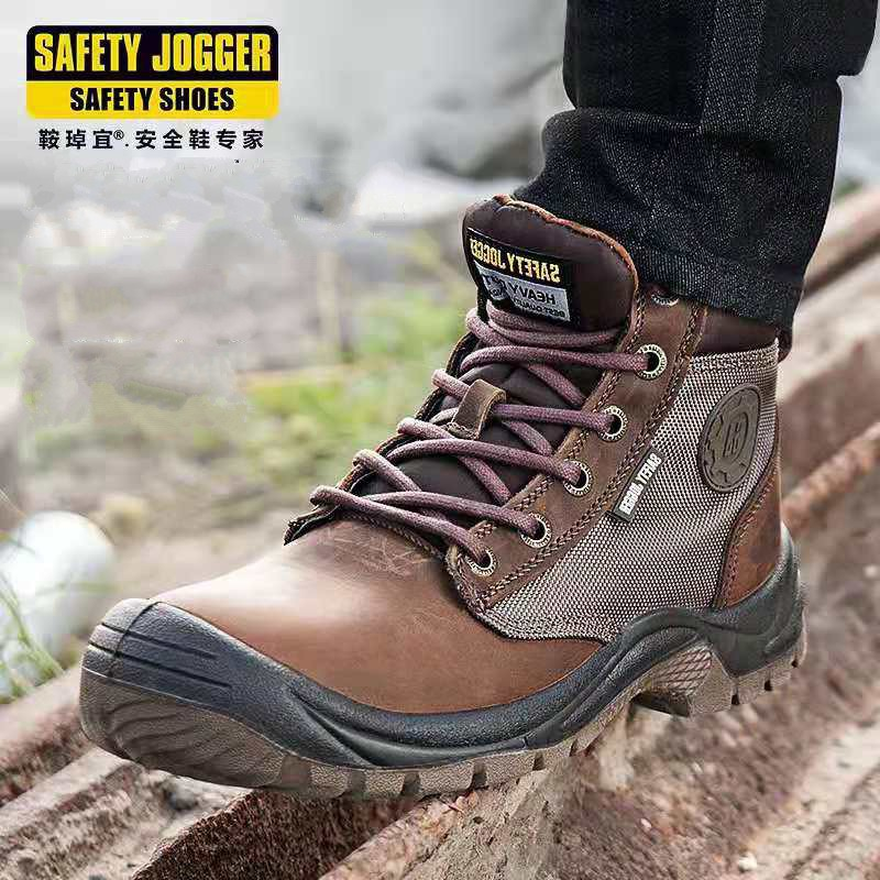fa62828148b Safety Jogger Safety Shoes Work Boots Steel toe shoes boots SRC Kevlar  anti-pier