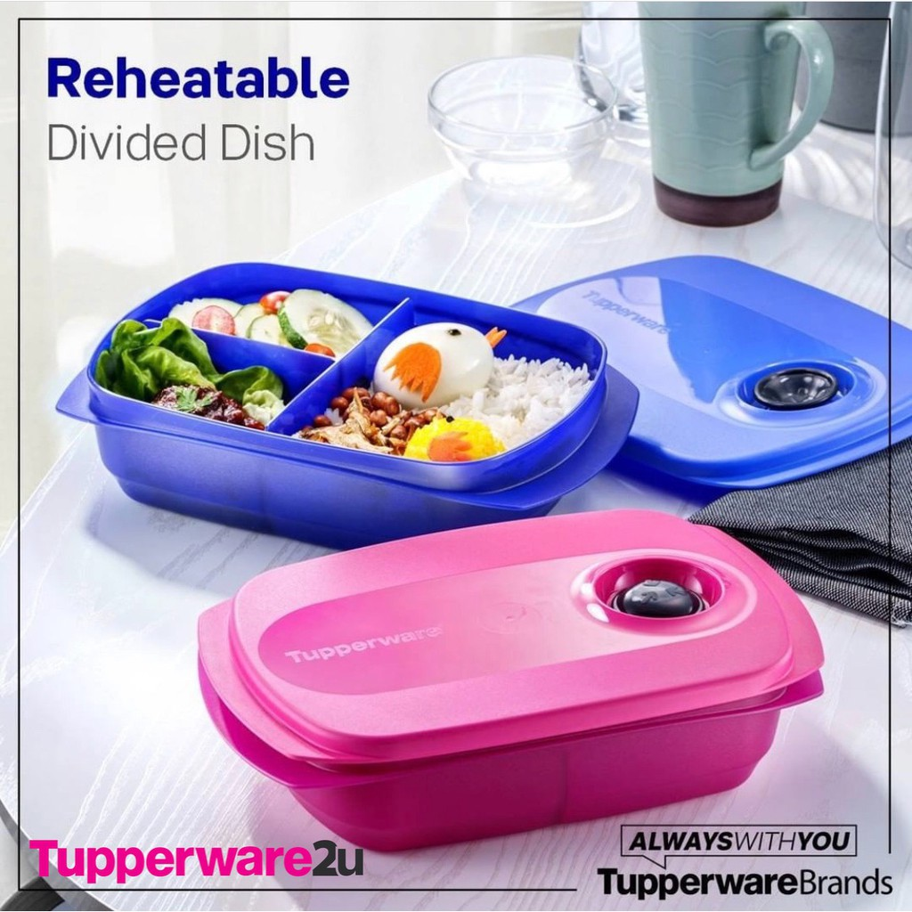 (New)(Ready Stock) (Limited Release) Tupperware Reheatable Lunch Box, 1L (Last unit)