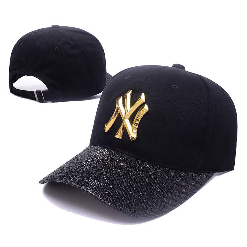 add2db7c91f MLB New York Yankees NY Paillette Men Women Unisex Baseball Cap ...