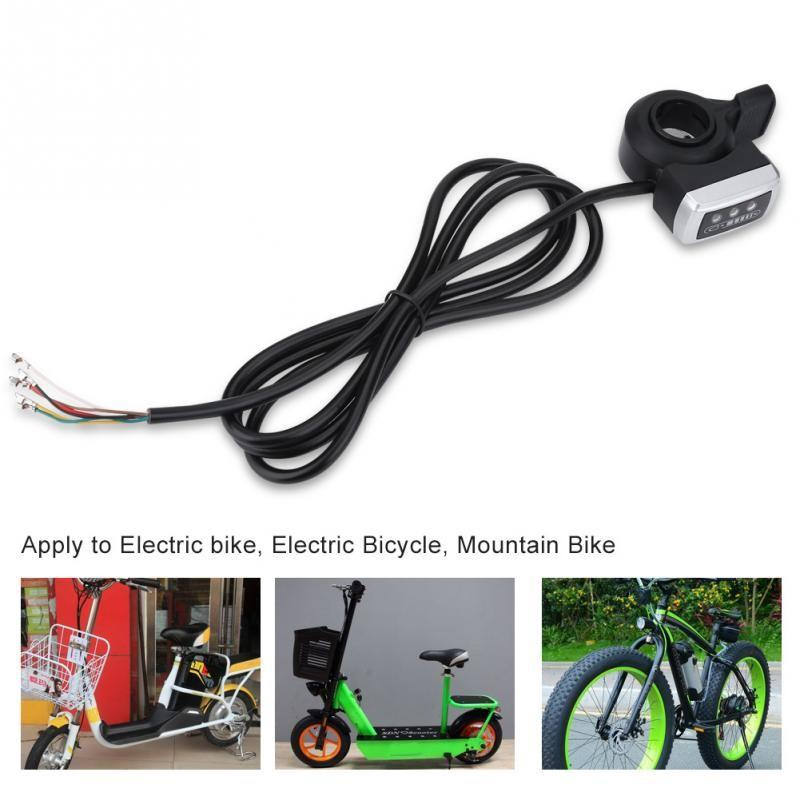 Electric Bike Throttle Grip Twist Left//Right Thumb Throttle Electric Bicycle Speed Controller 1 Pair Universal Electric Bike E-Bike Scooter Twist Speed Throttle For 22.5mm Handlebar Grips