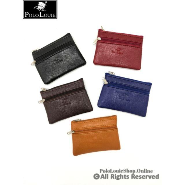 Muliticolour Polo Louie Women Clutch Zipper Coin Purse Simple Fashion Bag