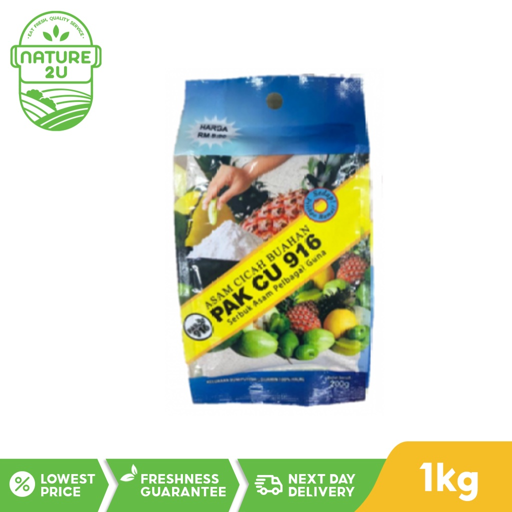 Pak Cu 916 Asam Powder (1KG)
