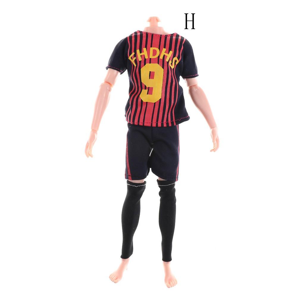 d4ae774fb3af5 Doll Football Sports World Cup Clothes Accessories for Barbie Boyfriend Ken  Doll