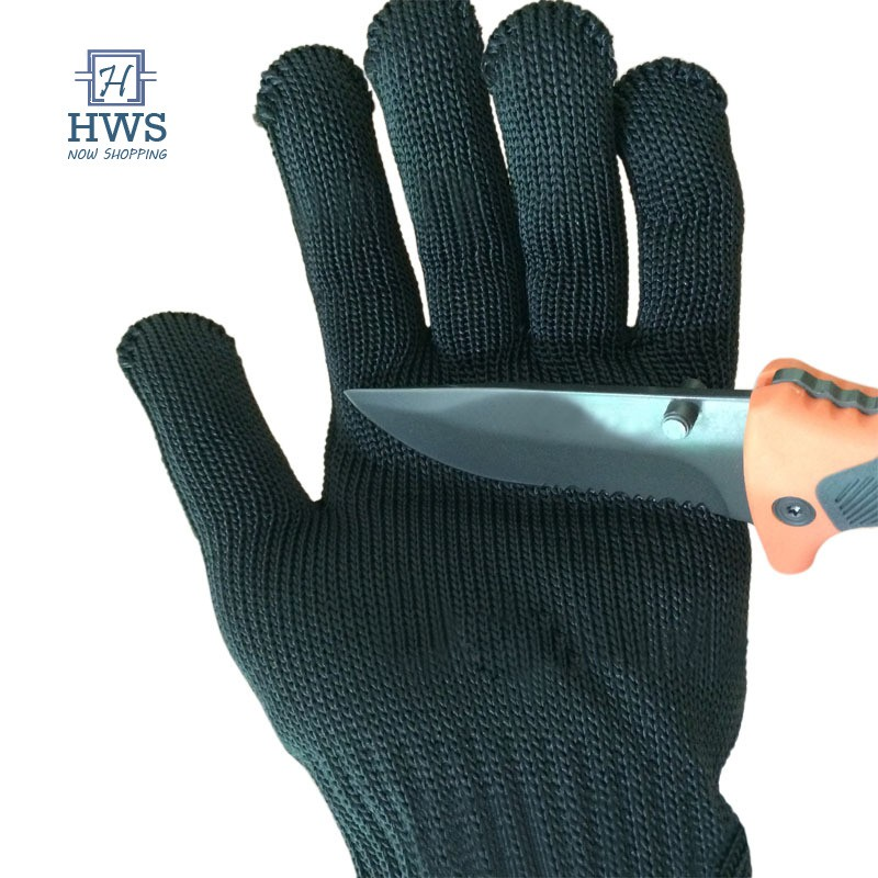 1Pair Of Metal Mesh Butchers Anti-Cutting Protective Glove Stainless Work~Gloves