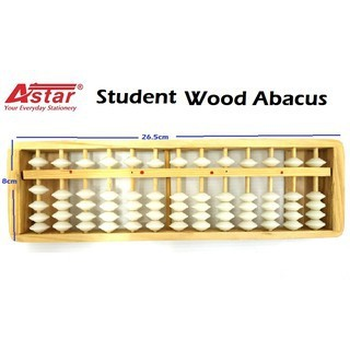 Astar mathematic wooden abacus