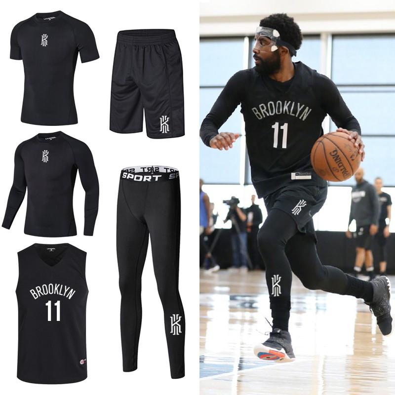 Basketball Uniform Owen Running Fitness Training Suit Jersey Qiu Dong Quick Drying Tights Take Custom Basketball Move Shopee Malaysia