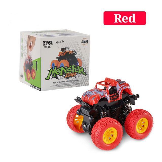[ READY STOCK ]  Mini Four Wheel Rotatable Car Toy Child Baby Off Road Vehicle Budak Mainan Car Anti Falling Jualan Murah