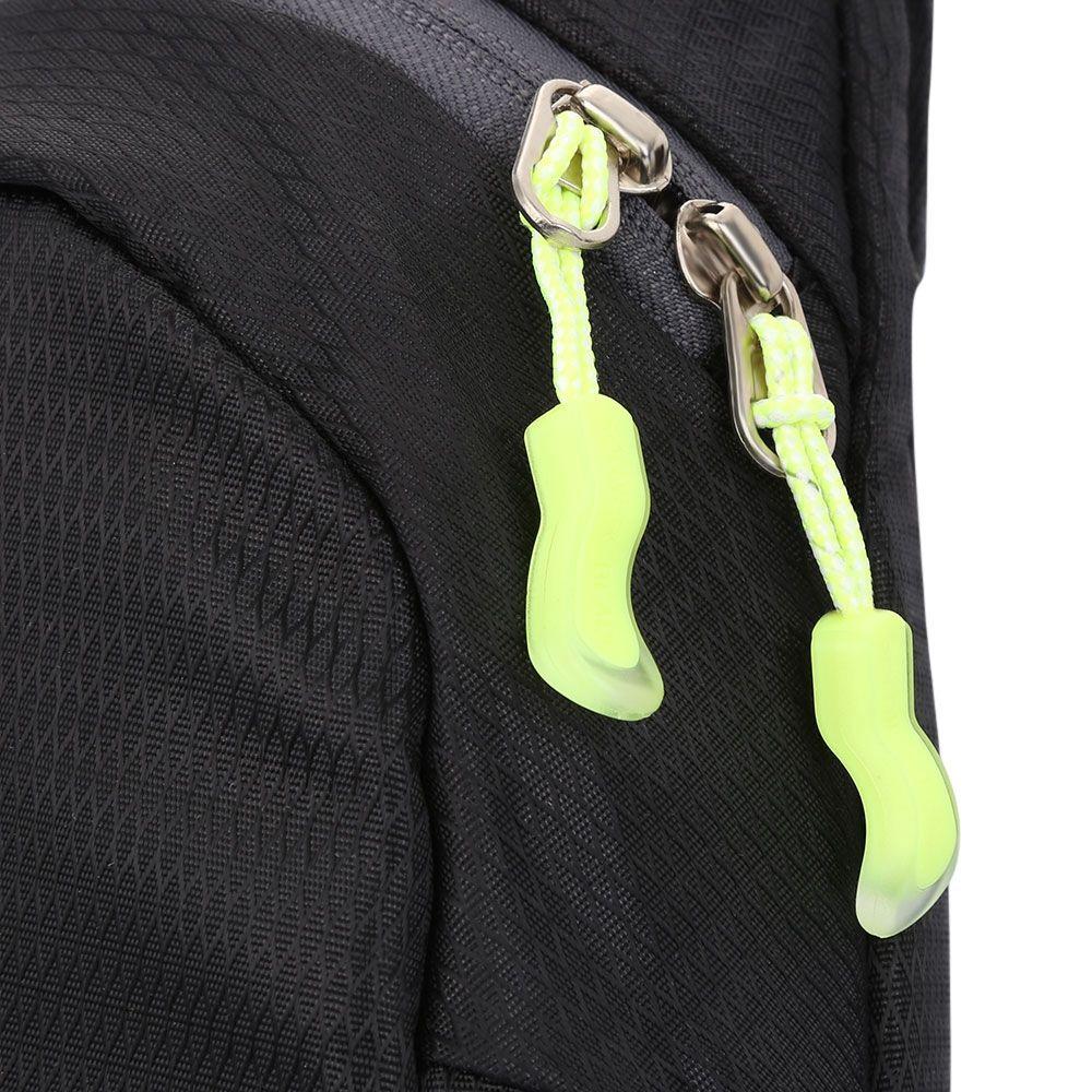 TRENDY WATERPROOF SINGLE SHOULDER CASUAL BAG (BLACK)