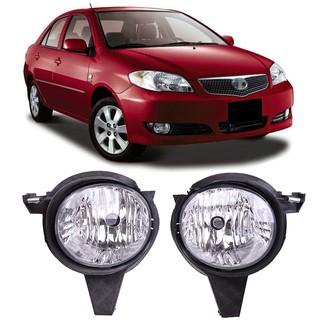 Car Front Bumper Fog Light Fog Lamp For Toyota Vios 2006 2007 Shopee Malaysia
