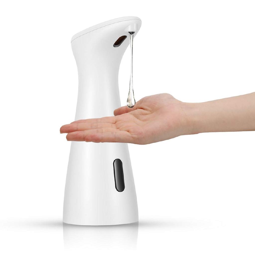 Automatic Soap Dispenser Waterproof Soap Dispenser Dish Liquid Hands Free Kitchen Bathroom Soap Pump Shopee Malaysia