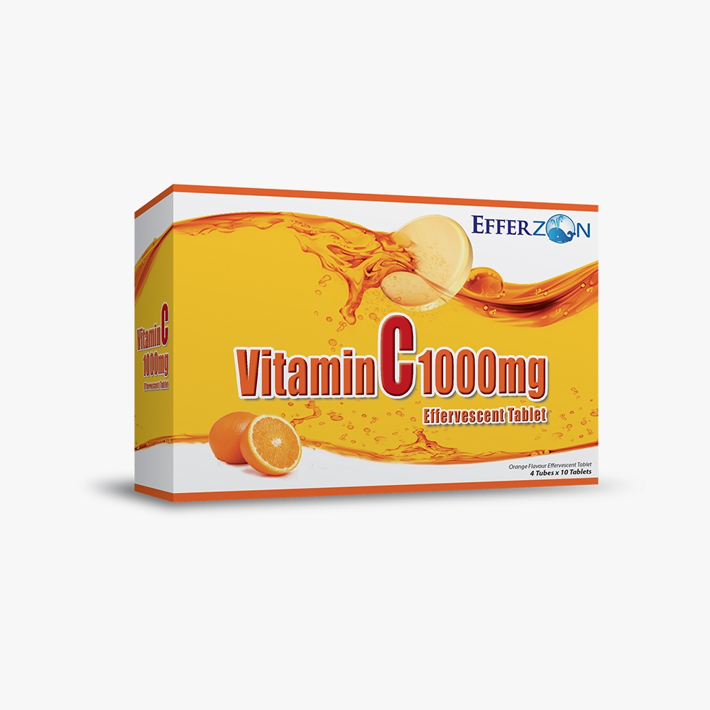 Efferzon Vitamin C 1000mg 4 x 10\'s