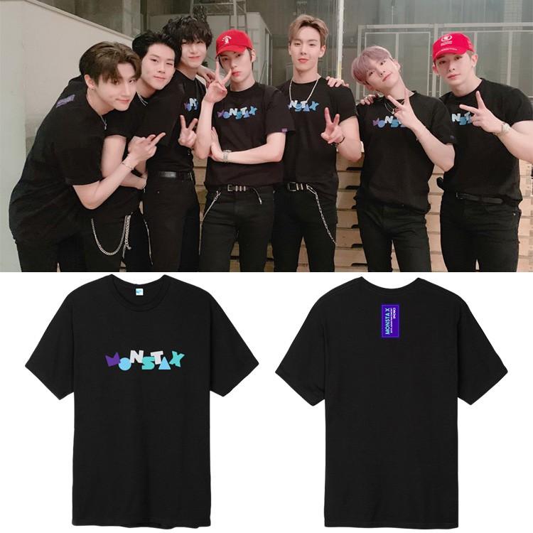 MONSTA X 2019 JAPAN FAN CONCERT K-Pop Fashion T-Shirt
