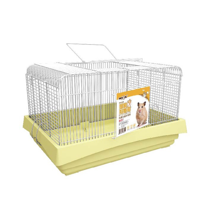 Home Cage For Hamster Syrian Hamster Extra Large Cage Yellow Shopee Malaysia