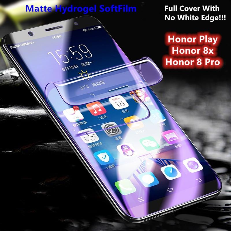 Huawei Honor 8x/8Pro/Play Anti Fingerprint Hydrogel Soft Screen Protector  Film