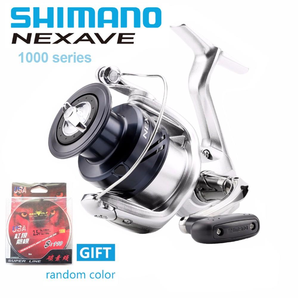 611b6f34f9e New Original SHIMANO NEXAVE 1000- 5000hg 5.0:1Saltwater Carp Fishing Reel    Shopee Malaysia