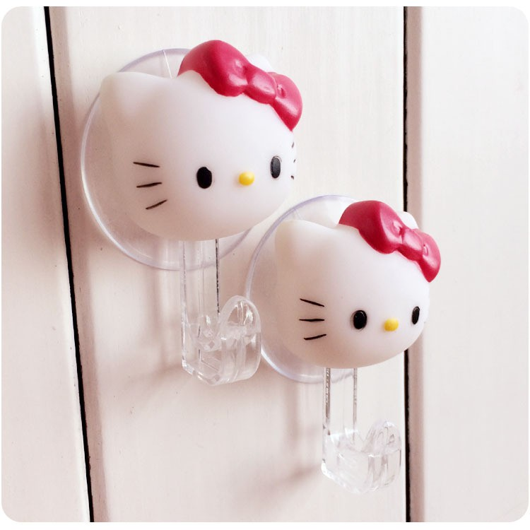 d535aaae2 Hello Kitty Strong Adhensive Stick Hook Clothes Hanger | Shopee Malaysia