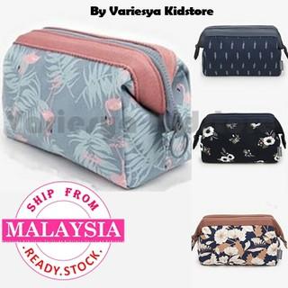f6b22391ffb3 Flamingo Cosmetic Bag Women Make Up Bag Travel Waterproof Makeup ...