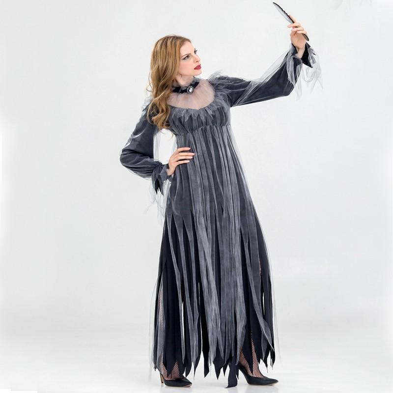 50e47438ba adult Halloween horror zombie ghost bride costume party vampire devil  costume