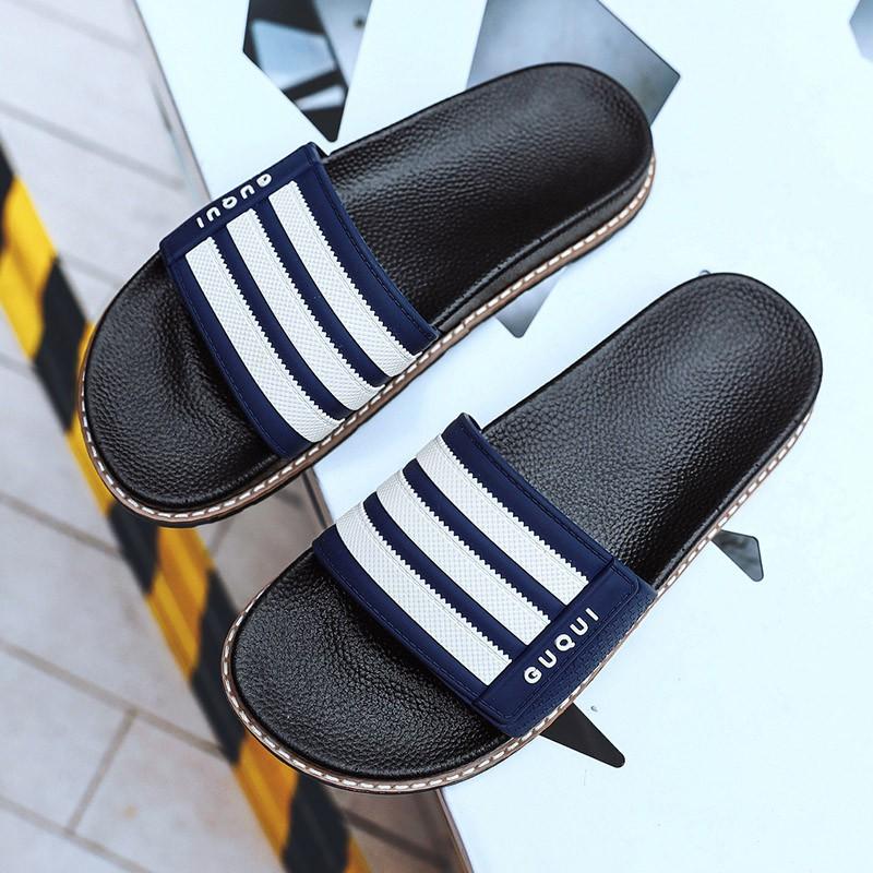 Slippers Men Shoes Slides Summer