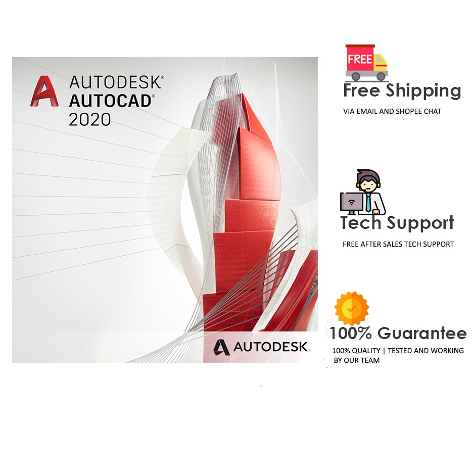 Autodesk Autocad 2020 | Offline Installer | Digital Delivery