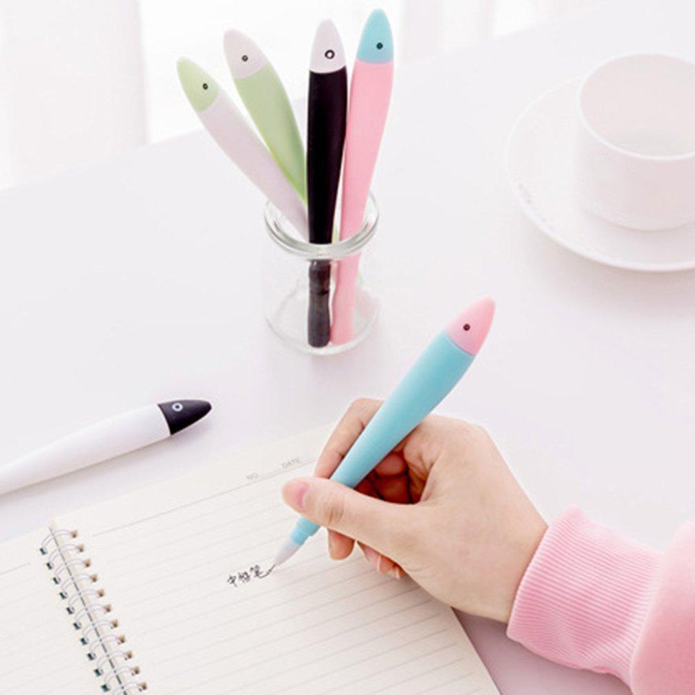 0.38mm Cute Cartoon Gel Pens Black Ink Writing Pen Creative Stationery Student