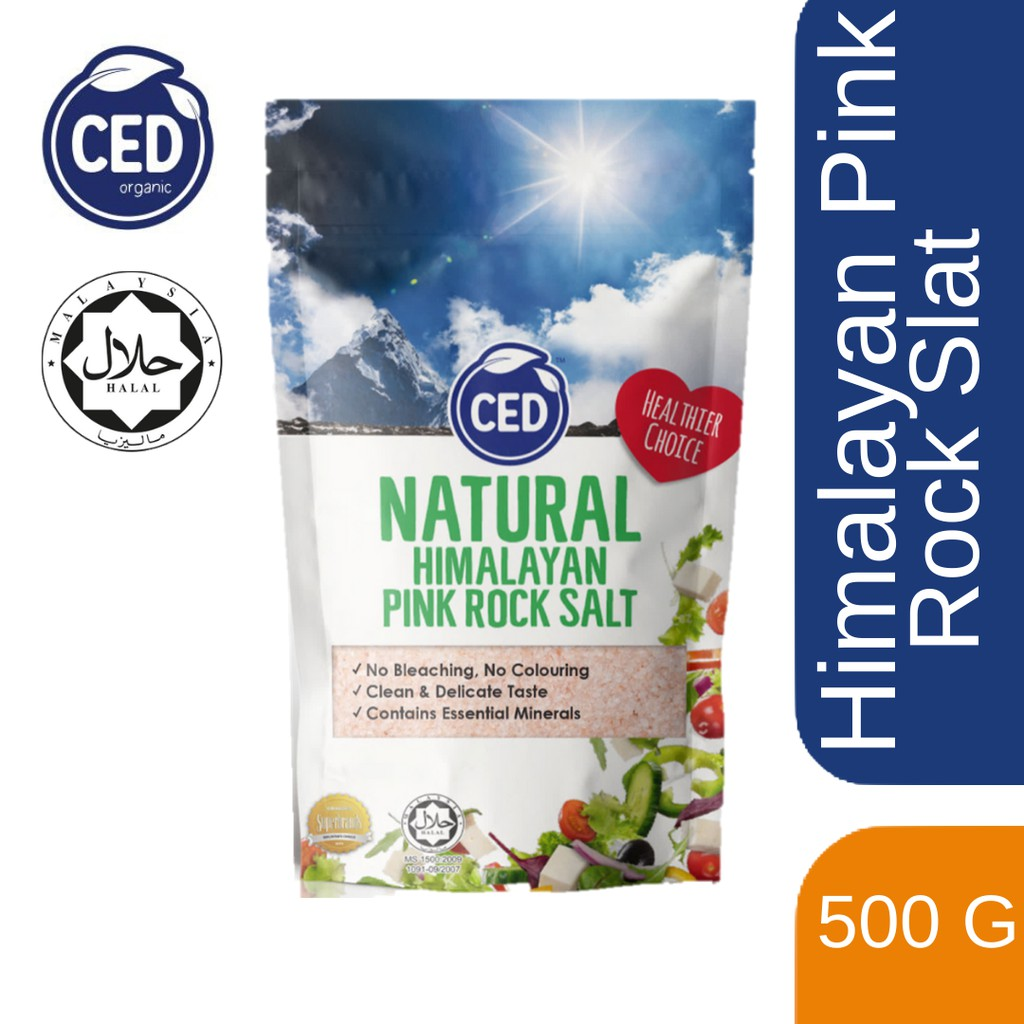 CED Natural Himalayan Pink Rock Salt 500GM