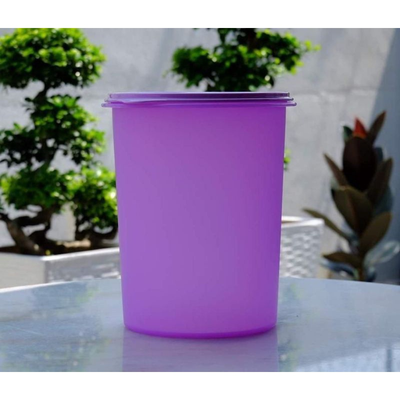 [10L PURPLE HOT LIMITED OFFER 1 PC] TUPPERWARE TALL CANISTER 10L TONG KEROPOK