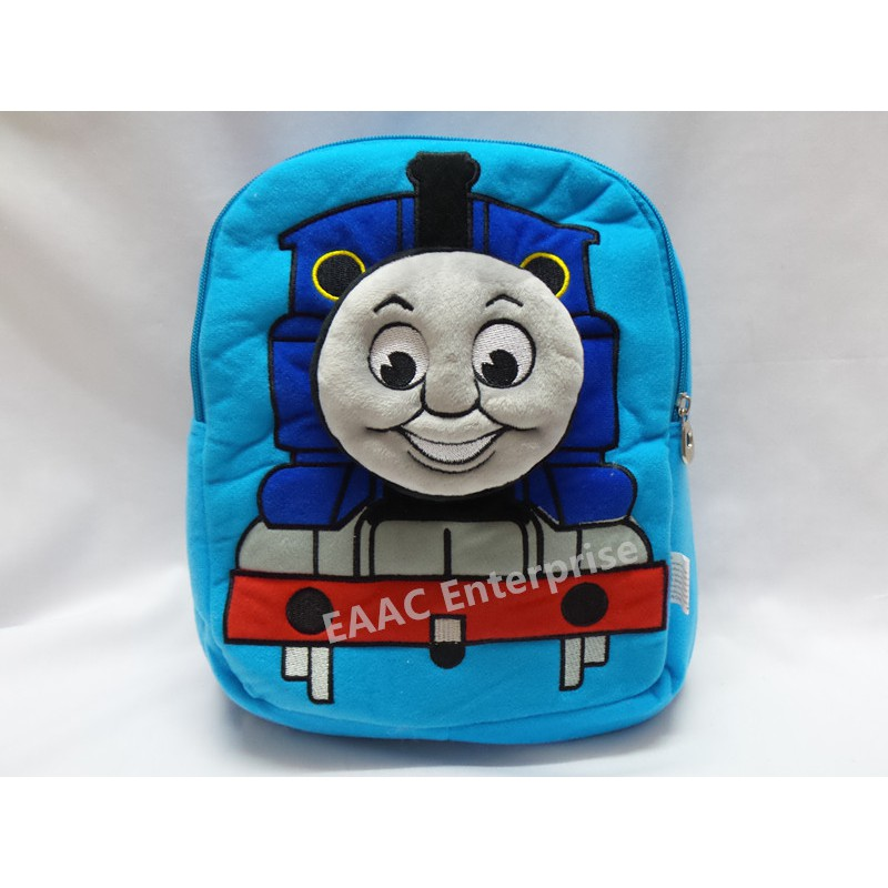 3D Thomas & Friends Train Cartoon Kid Backpack School Shoulder Bag