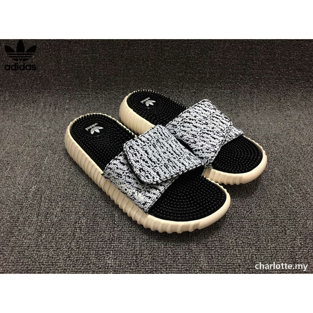 d0a82d75d Original Adidas YEEZY Coconut men women slippers couple slippers sandals