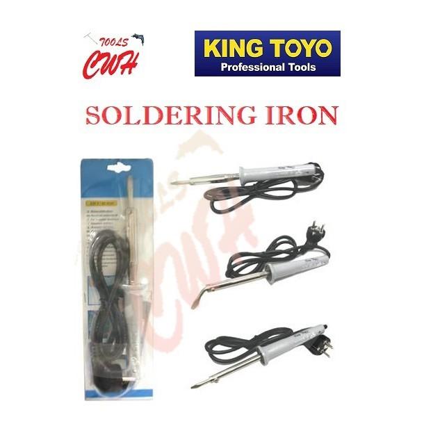 KING TOYO 45W 60W 80W SOLDERING IRON ELECTRIC ELECTRICIAN KTSI-1102 KTSI-1103 KTSI-1104