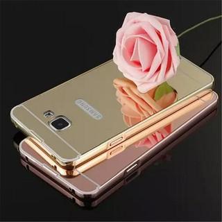 Samsung A5 A7 (2016) Slim Metal Bumper Mirror Cover Case Casing | Shopee Malaysia