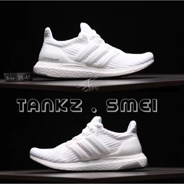 9c006bf65e6 Adidas (8 Colour) Ultra Boost 3.0 - white