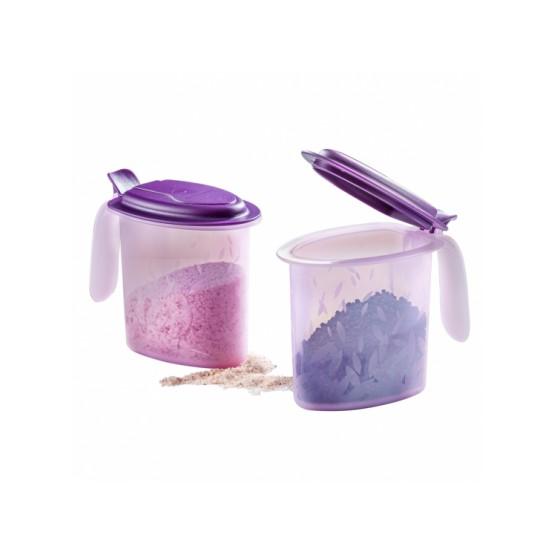 TUPPERWARE Salt N Spice Set (2) 500ml