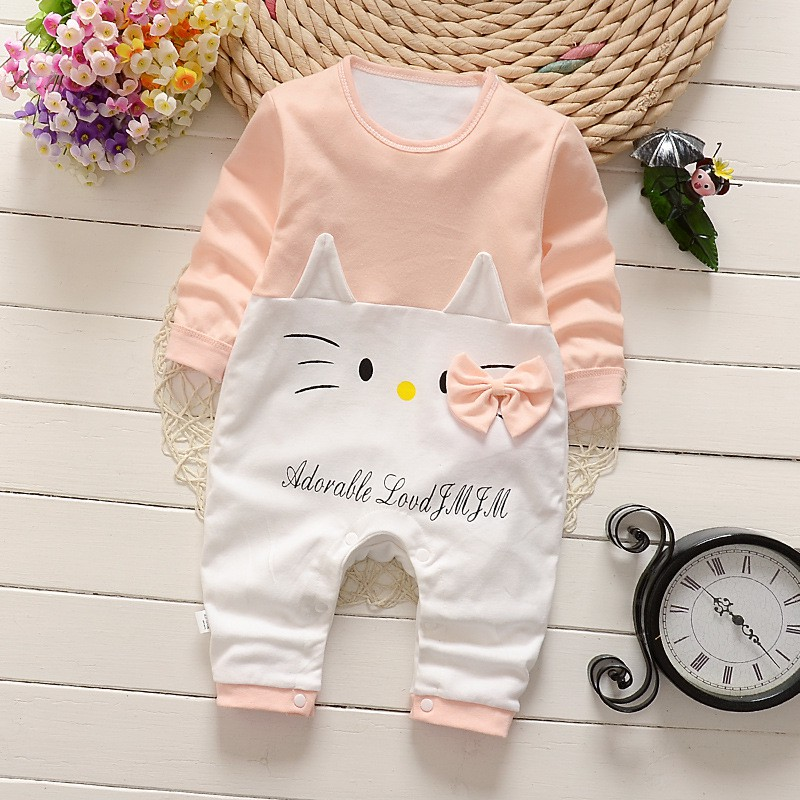 cec2d7fe9 Toddler Newborn Cotton Romper Jumpsuit Climbing Clothes - Nude / Hello Kitty  | Shopee Malaysia