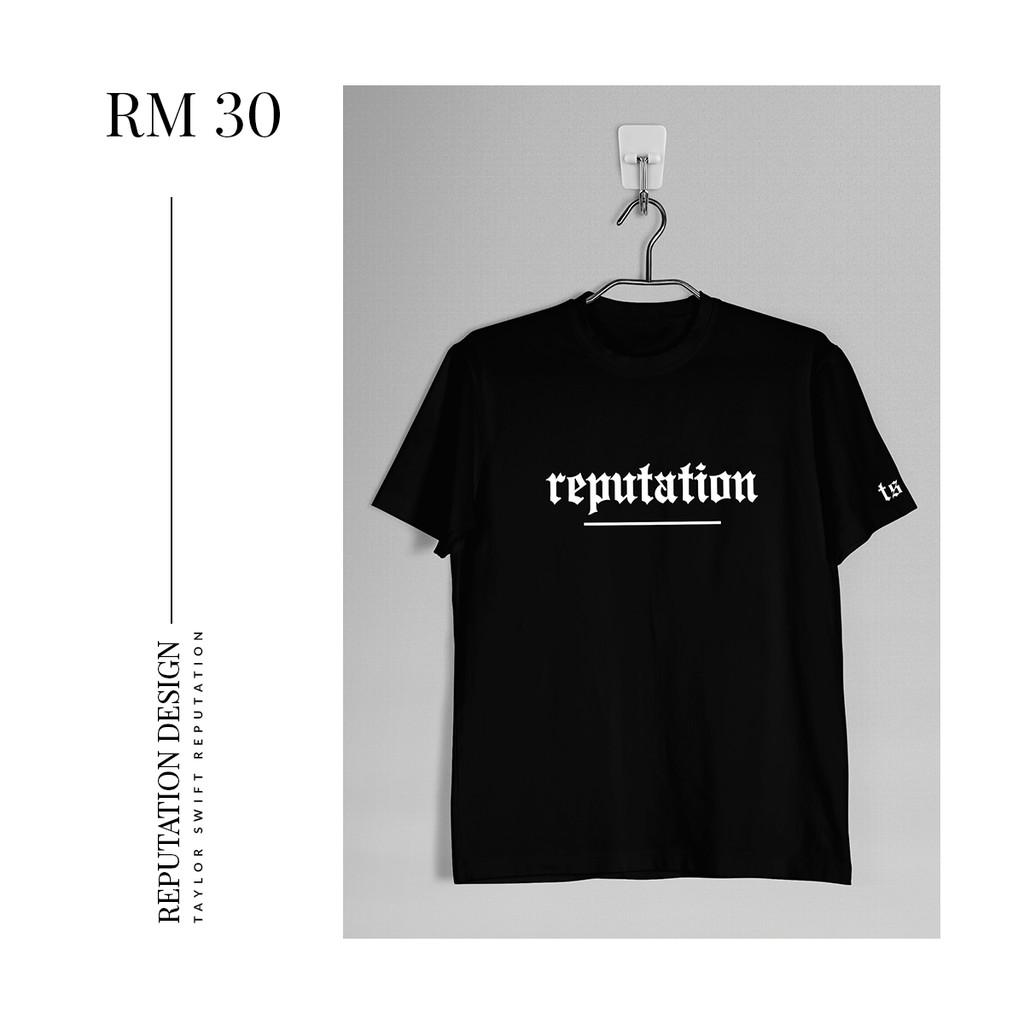04be3ea1 Taylor Swift REP & Reputation Unisex Tshirt | Shopee Malaysia