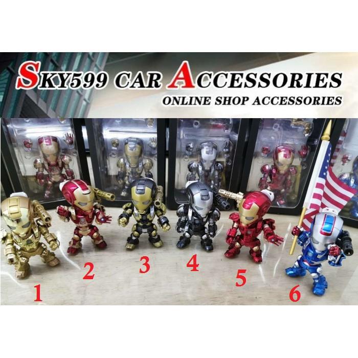 Iron Man Cartoon Car Air Outlet Decor Auto Perfume Shopee Malaysia