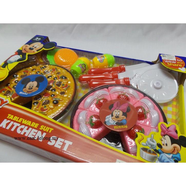 Mickey & Minnie Tableware Suit Kitchen set - Toys