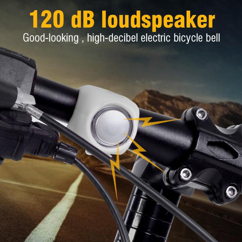 Bicycle Bell Metal Ring Bike Handlebar Bell Horn Sound Alarm Bicycle Accessories Cycling Outdoor Warning Bell Rings Sophisticated Technologies Bicycle Accessories