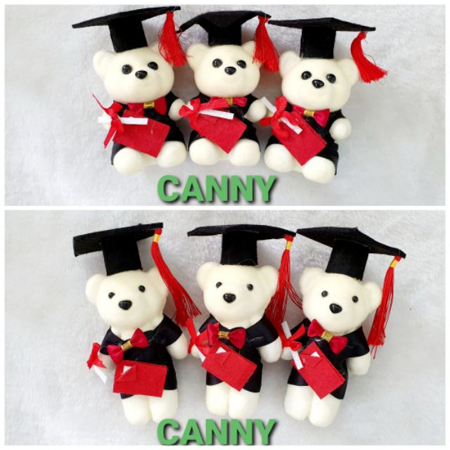 🌻🐻Graduation Bear for Flower Bouquet or Decoration 10 pcs 🐻🌻