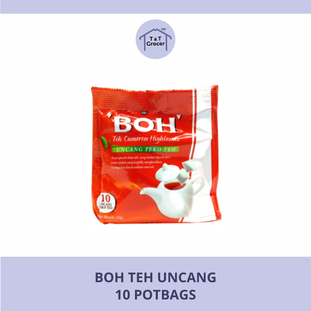 BOH Teh Uncang (10 Potbags)