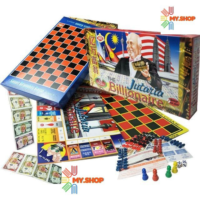 The Billionaire Jutaria Draughts Game HT 2326