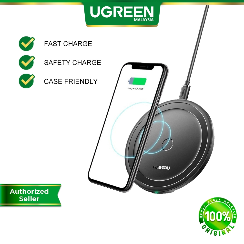 UGREEN 10W Qi Wireless Charger for iPhone 12mini iPhone 12 iPhone 12 pro iPhone 12 pro max for Samsung S10 S20 Note20