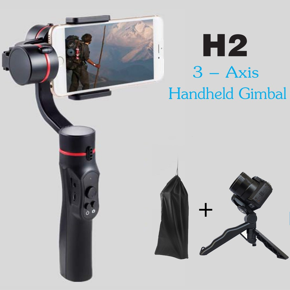 Feiyu Vimble 2 Handheld Smartphone Gimbal With Built In Extender Spg 3 Axis Steady For Smartphones Shopee Malaysia