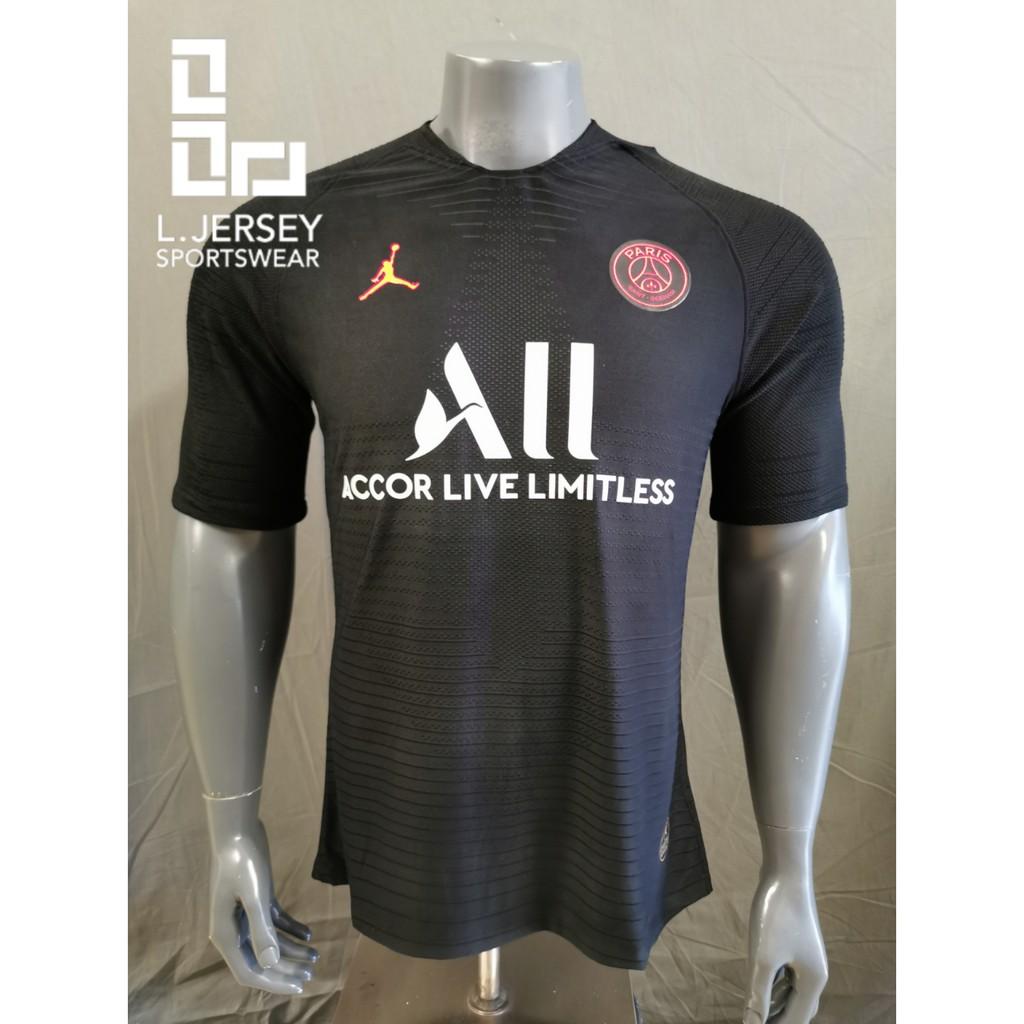 Paris-Saint Germain X Air Jordan Men Limited Blackout Edition Season 19/20 Vaporknit Player Jersey