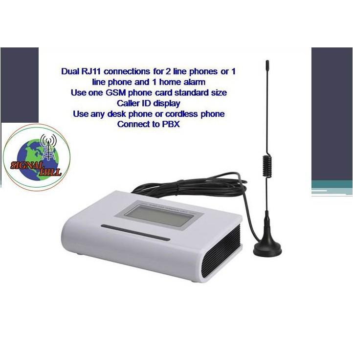 DUAL BAND 900/1800MHz SIM CARD FIXED WIRELESS GSM TERMINAL ALARM DIALER